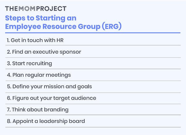 Steps to starting an employee resource group (ERG)