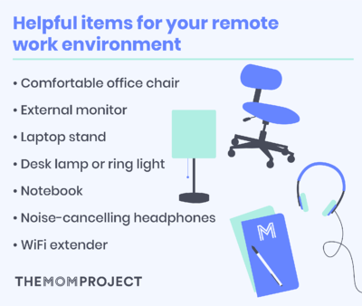 Helpful items for your remote work environment
