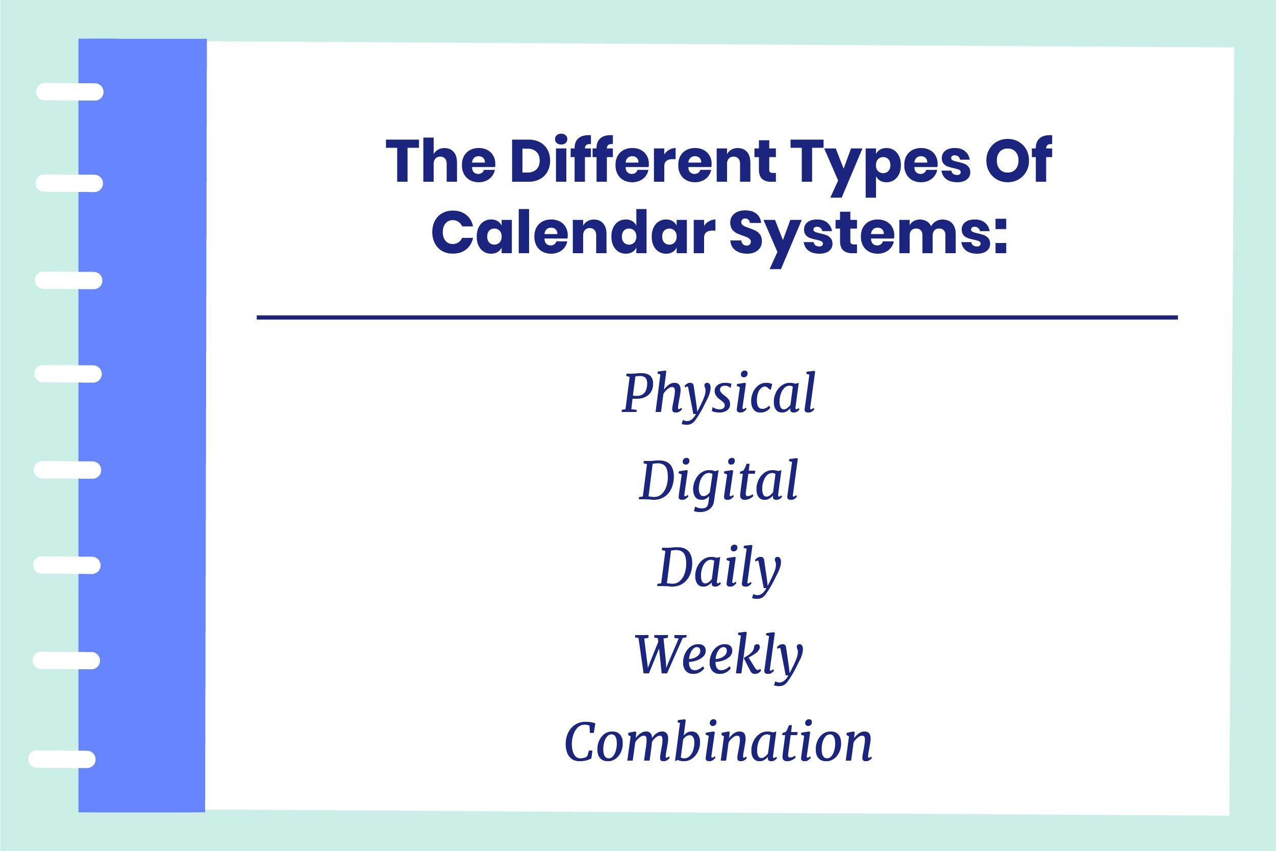 calendar systems