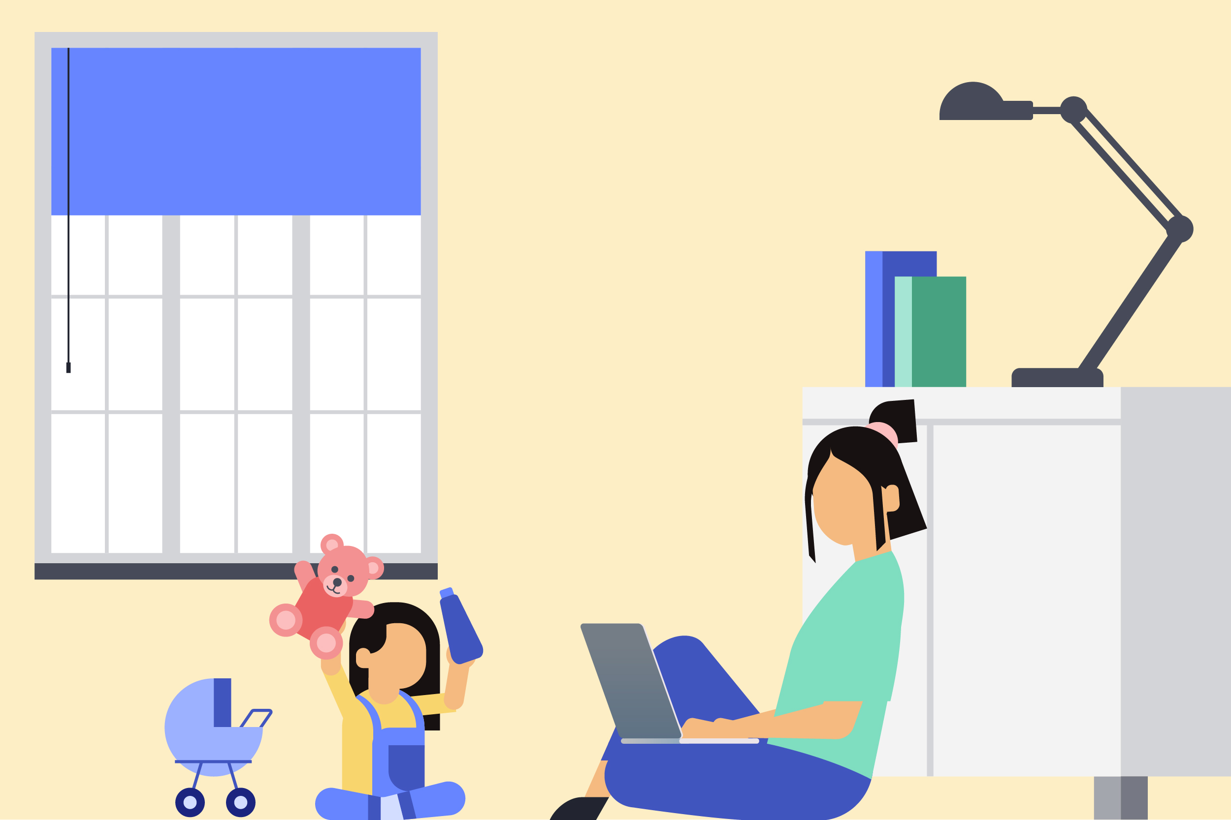 When Work Becomes an Escape from Motherhood